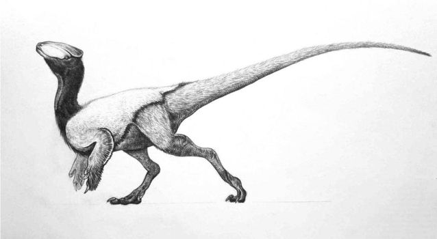 Guanlong by Lythroversor