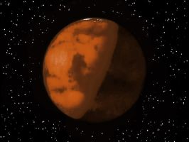 The Red Planet by Astralview