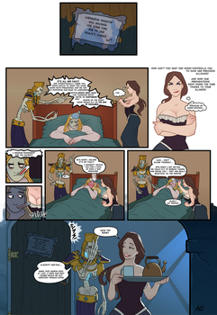 Arthas and Mind-Control by scourge-minion