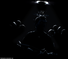 [FnaF-Sfm Poster] Lights out by Teetheyhatty
