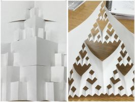 Cool Paper Folds by FantasyArt99