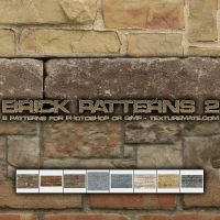 Brick Patterns 2 by AscendedArts