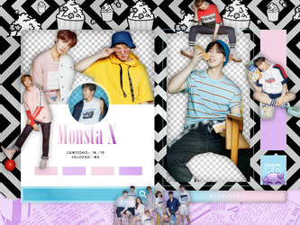 MONSTA X   PACK PNG by KoreanGallery