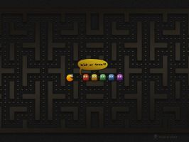 Trick or Treat? PacMan by vladstudio
