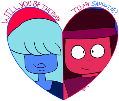 Go together like a fusion of rebel sentient rocks by Bexy164