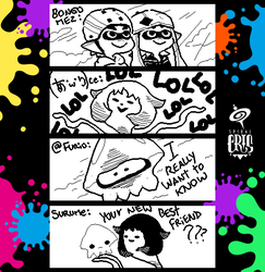 Splatoon Miiverse Art 46 by SPIRALCRIS