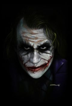 The Joker - by DanLuVisiArt