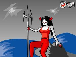 freebsd wallpaper 1 by rikulu