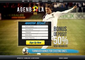 Web Design: Football Sales Page by polarbear0743