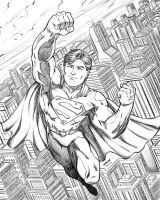 Superman by robertmarzullo