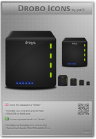 Drobo Icons by pok3