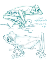 frogs by AlaxendrA