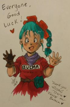 Forever Our Bulma  by Sammeezilla