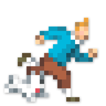 Day #113 - Tintin And Snowy by JINNdev