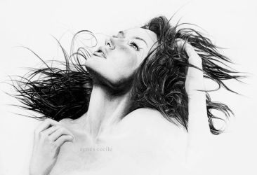 portrait wind by agnes-cecile