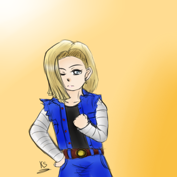 Android 18 by YuraRonimeIE