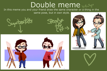 Double Meme With Speedythecat by sugarbearkitty