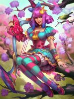 SMITE Harajuku Neith by Scebiqu
