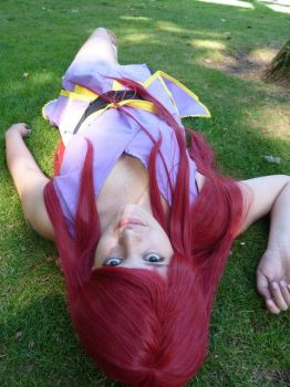 Erza-Robe of Yuen by lenalee9543