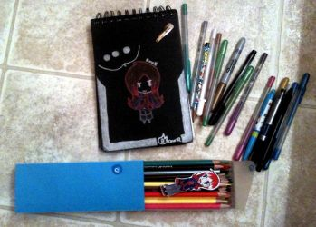 All the crap I insist on bringing with me by Rawrshiram