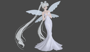 Queen Serenity manga mod by Lopieloo
