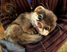 Sold, Poseable Baby Otter! by Wood-Splitter-Lee