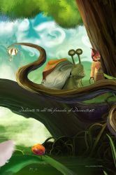 The fate of snail by michan