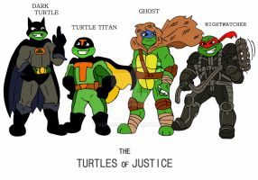 TMNT: SUPER heros in a Half Shell by xero87