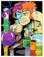 Mad Scientist by Batman4art