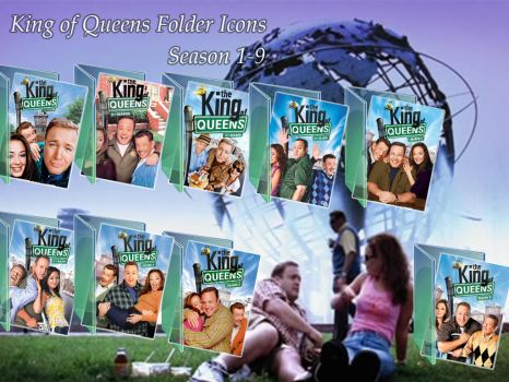 King of Queens Folder Icons by DonPate