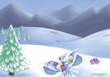 Crocus in the Snow by naturalradical