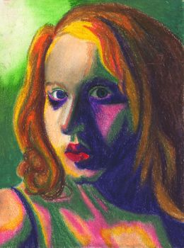 Self Portrait--Fauvist by Melaninny