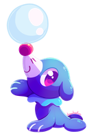 Popplio by ChocoChaoFun