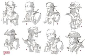 ao2 40th day: grunt head rough by ClementSauve