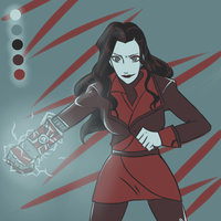 Color palette meme - Asami by mandarain-a