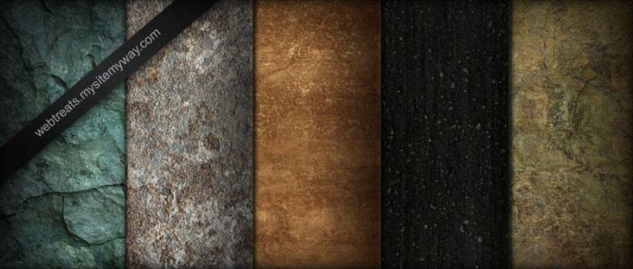 Stone Pavement Marble Textures by WebTreatsETC