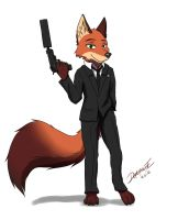 Nick Agent by Derbasune