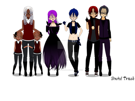 Soulless- The Ally Team by Sinful-Trash