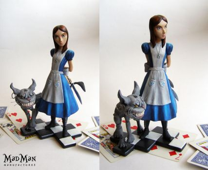 American Mcgee's Alice statue by LuckyKrusky