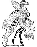 Waspinator -lines- by Ammotu