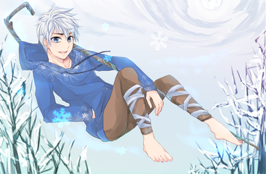 Rise of Guardians:Jack Frost by BF-63