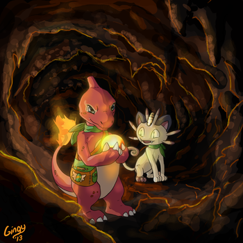 In The Dungeon by Gingy1380