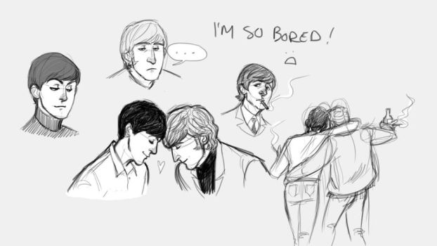 More Beatles by Lollo-hehe