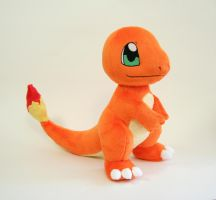 Charmander Plush by Yukamina-Plushies