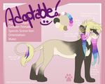 ADOPTABLE CLOSED! -Comes with complete ref sheet- by Kamis-Cafe
