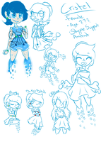 OC REF ~ Cristel {Skype Help Assistant} by SwiftKhaos