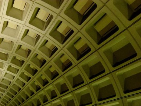 Interior of Metro station by ecfield