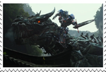 Age of Extinction: Optimus and Grimlock stamp by Playstation-Jedi
