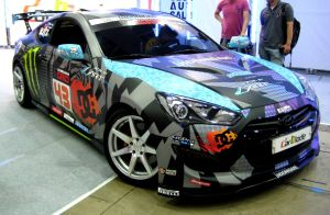 Monster Energy Genesis Coupe Drift by toyonda