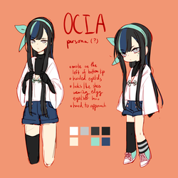 is my persona who i never use but she gets a redes by Eiocia